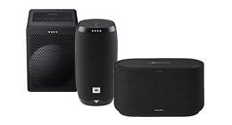 Smart speakers met ingebouwde spraakassistent